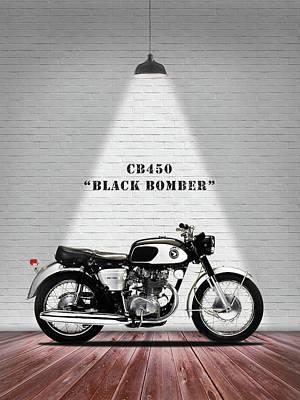 Honda Cb450 1965 Poster