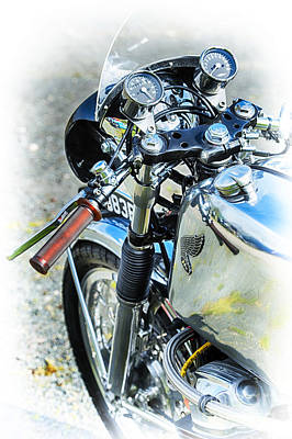 Honda Cb750 Cafe Racer  Poster by Tim Gainey