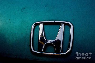 Honda Civic Hood Badge - Img4514 Poster