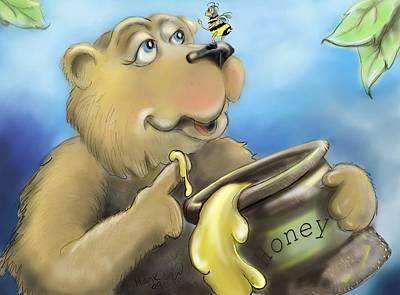 Honey Bear Poster