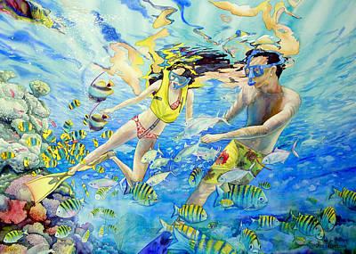 Honeymoon Poster by SvetLana Grecova