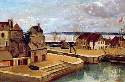 Honfleur  Houses On The Quay Poster