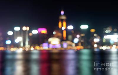 Hong Kong Skyline Oof Poster