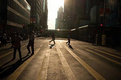 Hong Kong Street View 04 Poster by Kam Chuen Dung
