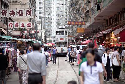 Hong Kong Street View 05 Poster by Kam Chuen Dung