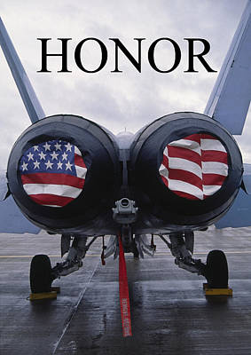Honor The Flag Poster