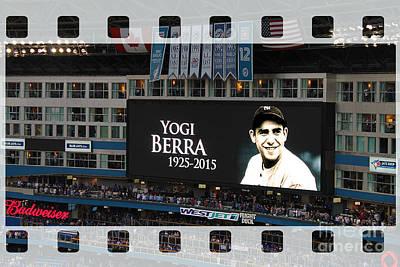 Honouring A Legend - Yogi Berra Poster