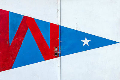 Hoofer Sailing Club Burgee Poster