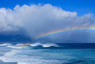 Ho'okipa Rainbow Poster