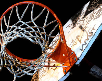 Hoop Poster by Mike Lindwasser Photography