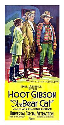 Hoot Gibson In The Bear Cat 1922 Poster