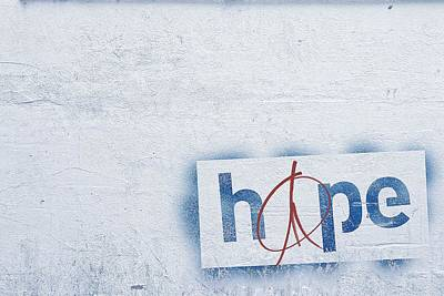 Hope And Peace Poster by Cco