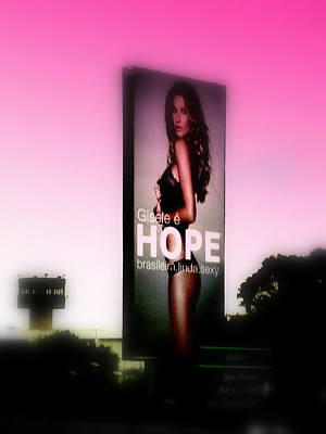Hope For All Single Men Poster by Funkpix Photo Hunter