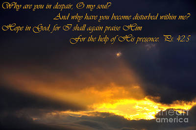 Hope In God Poster