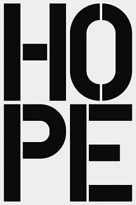 Hope Poster by Three Dots