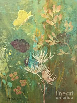 Hopeful Golden Wings Poster