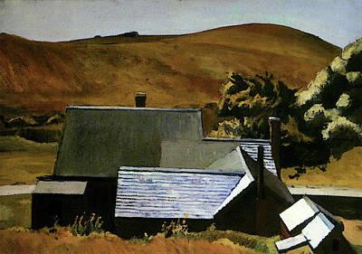 Hopper Edward Burlys Cobbs House South Truro Poster