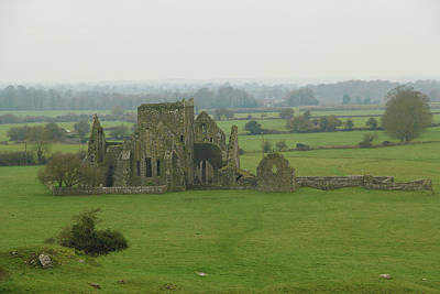 Poster featuring the photograph Hore Abbey by Marie Leslie