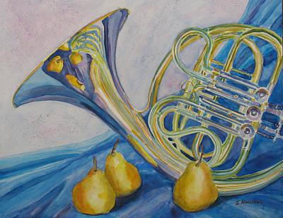 Horn Danjou Poster by Jenny Armitage