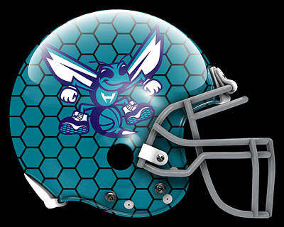 Hornets What If Its Football Poster by Joe Hamilton