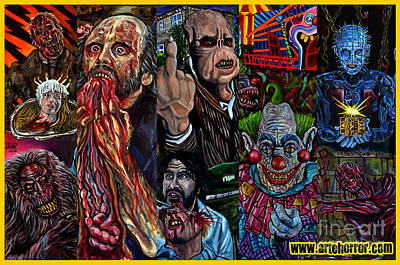 Horror Poster by Jose Mendez