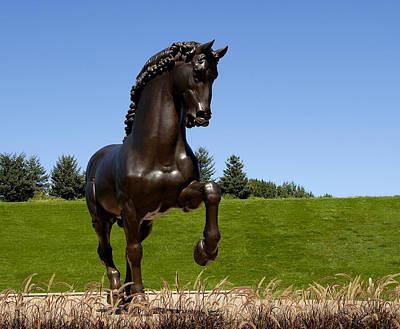 Horse Sculpture 2 Poster