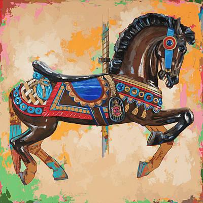 Horses #3 Poster by David Palmer