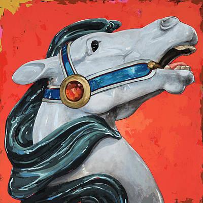 Horses #5 Poster by David Palmer