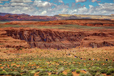 Poster featuring the photograph Horseshoe Bend Arizona #2 by Jennifer Rondinelli Reilly - Fine Art Photography