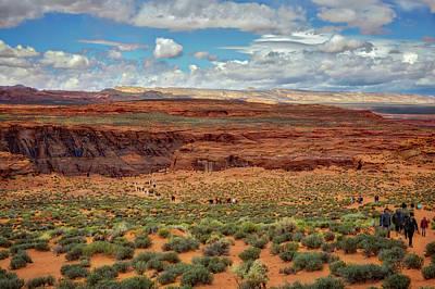 Horseshoe Bend  - Arizona Poster by Jennifer Rondinelli Reilly - Fine Art Photography
