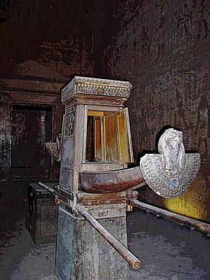 Horus Ceremonial Barque I Poster