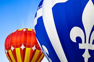 Hot Air Balloons Close-up Poster