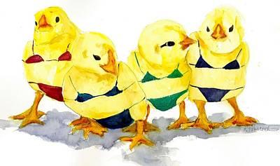 Hot Chicks...henpecking Not Allowed Poster