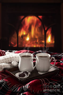 Hot Chocolate Drinks Poster by Amanda Elwell