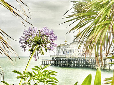 Hot Eastbourne Summer Poster by Connie Handscomb