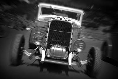 Hot Rods At Pendine 11 Poster