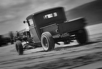 Hot Rods At Pendine 13 Poster