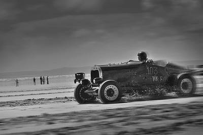 Hot Rods At Pendine 14 Poster
