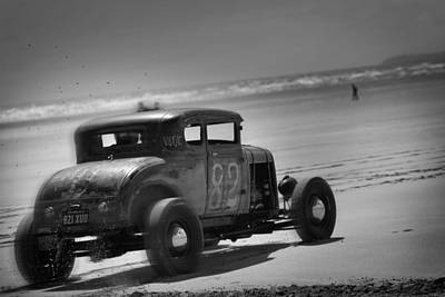Hot Rods At Pendine 12 Poster