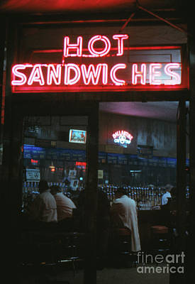 Hot Sandwiches Poster by The Harrington Collection