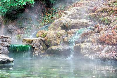 Poster featuring the photograph Hot Springs In Hot Springs Ar by Diana Mary Sharpton