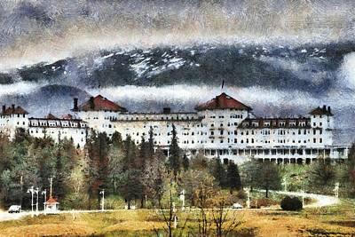 Hotel At Mount Washington Poster by Jim Proctor