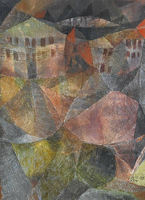 Hotel  Poster by Paul Klee