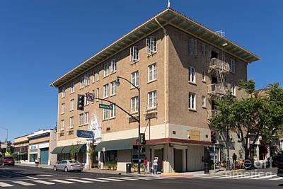Hotel Petaluma In Petaluma California Usa Dsc3733 Poster by Wingsdomain Art and Photography