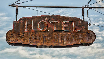 Hotel Pontotoc Poster by Stephen Stookey