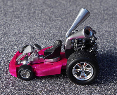 Hotwheels Go Kart Poster by Bruce Roker