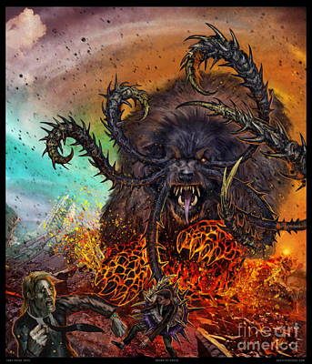 Hound Of Greed Poster by Tony Koehl