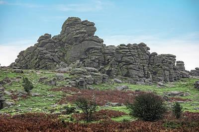 Hound Tor - Dartmoor Poster