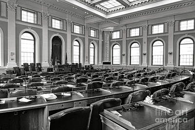 House Of Representatives Chamber Of Maine In Augusta Poster by Olivier Le Queinec