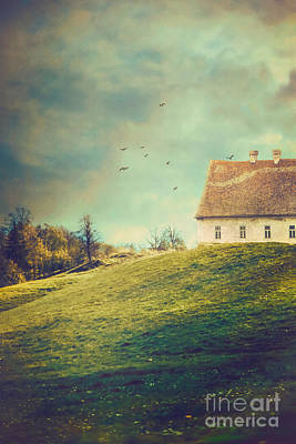 House On Hill Poster